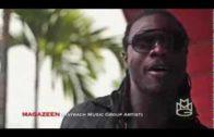Maybach Music's Magazeen giving props to DJ Res-Q